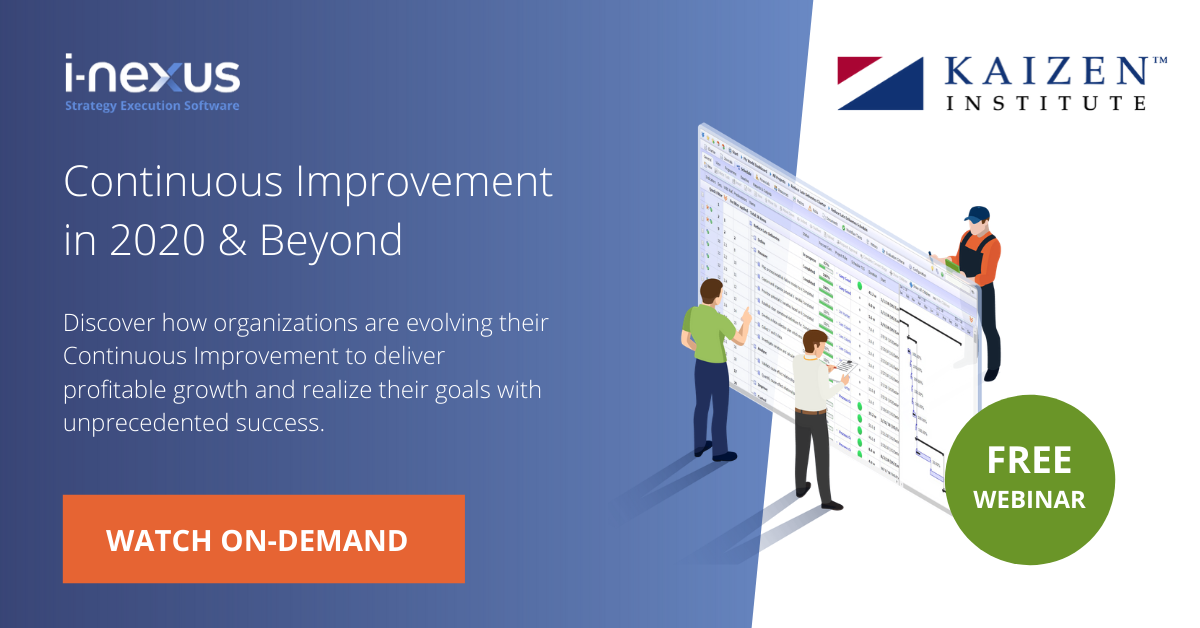 Continuous Improvement in 2020 and beyond webinar