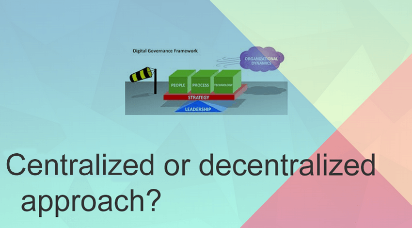 Centralized or decentralized approach to strategy