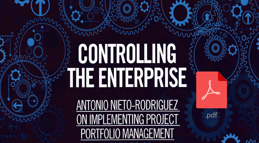 Controling the enterprise - implementing project portfolio management
