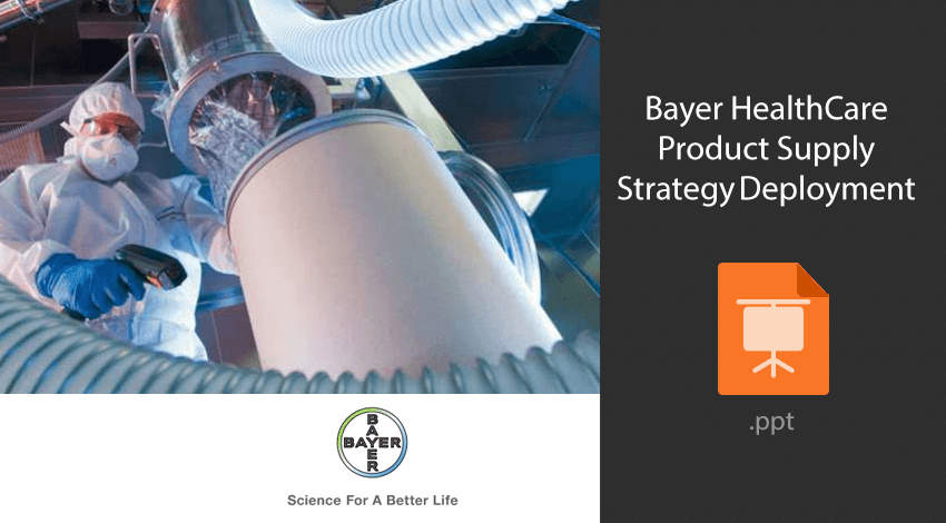 Bayer Healthcare Strategy Deployment