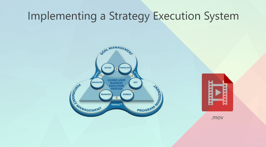 implementing a strategy execution sysytem - webinar