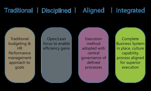 i-nexus strategy execution maturity model