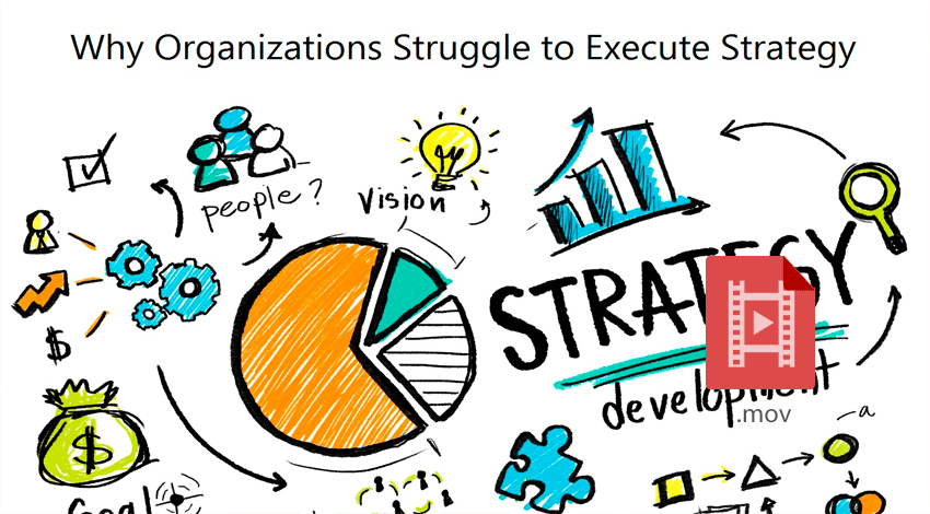 Why organizations struggle to execute strategy