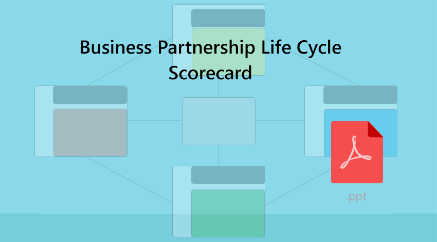 Business Partnership Life Cycle Scorecard