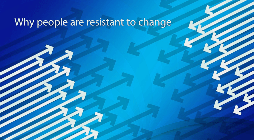 Why peopleare resistant to change