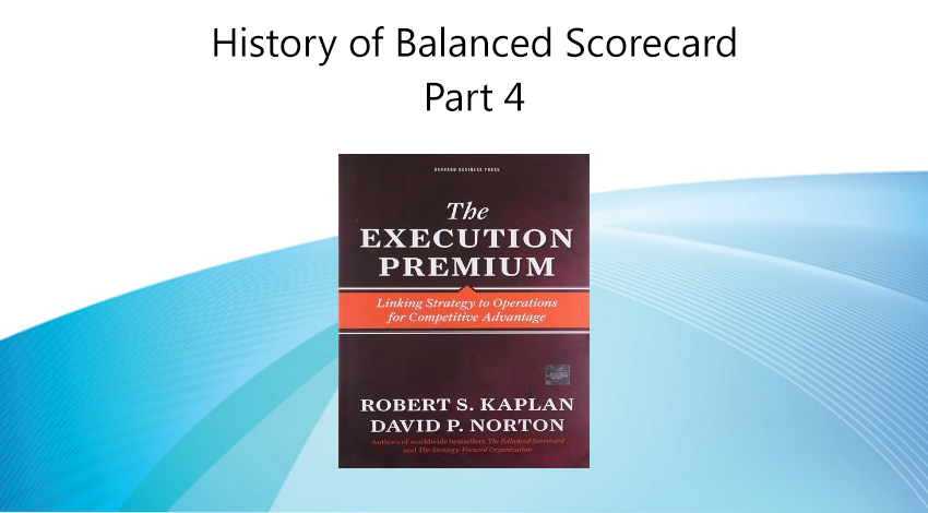 History of Balanced Scorecard - Execution Premium