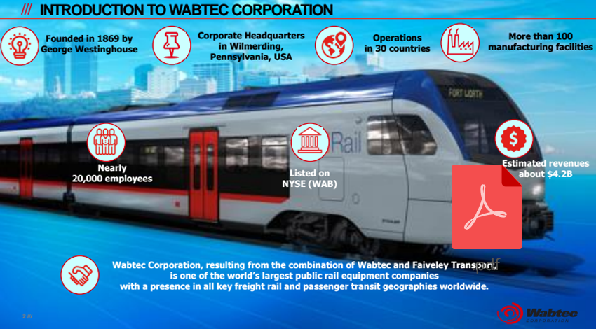 Wabtec Corporation Strategy Deployment process