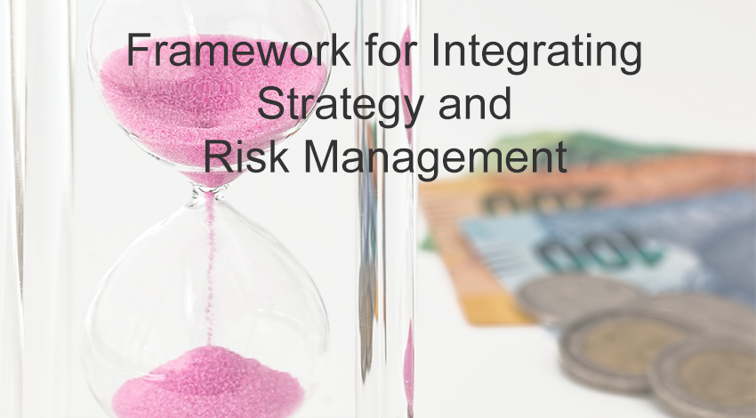 how to integrate strategy and risk management