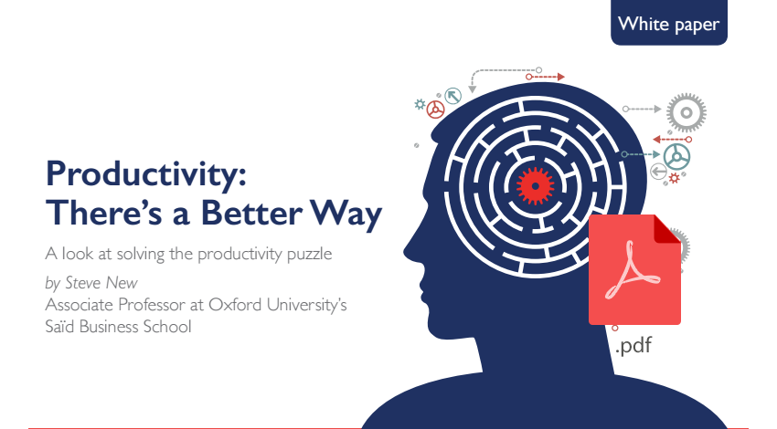 solving productivity puzzle