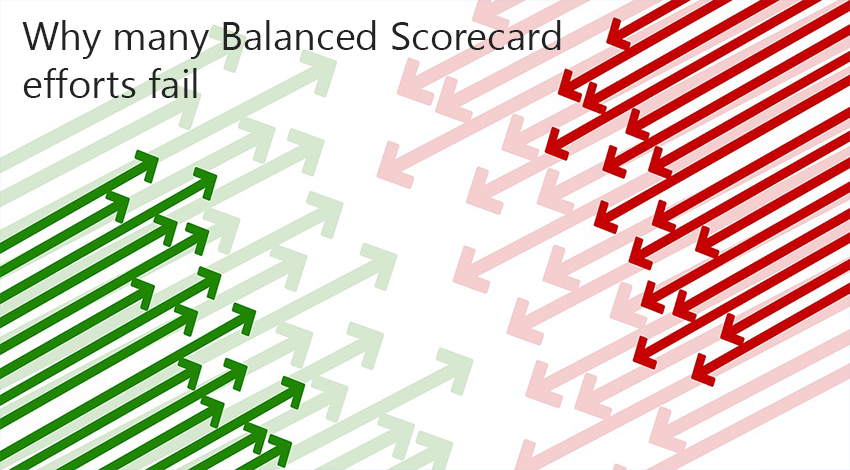 why so many balanced scorecard efforts fail